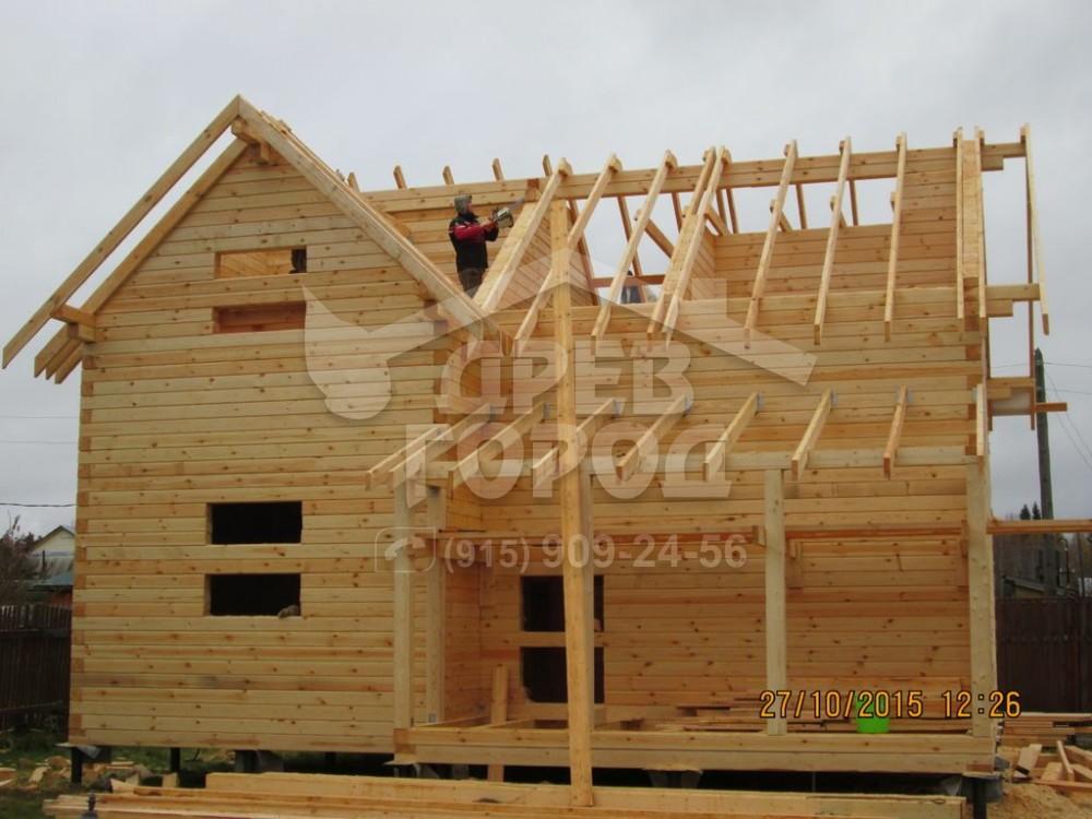Как сделать крышу на брусовом доме - Jtl-spb.ru